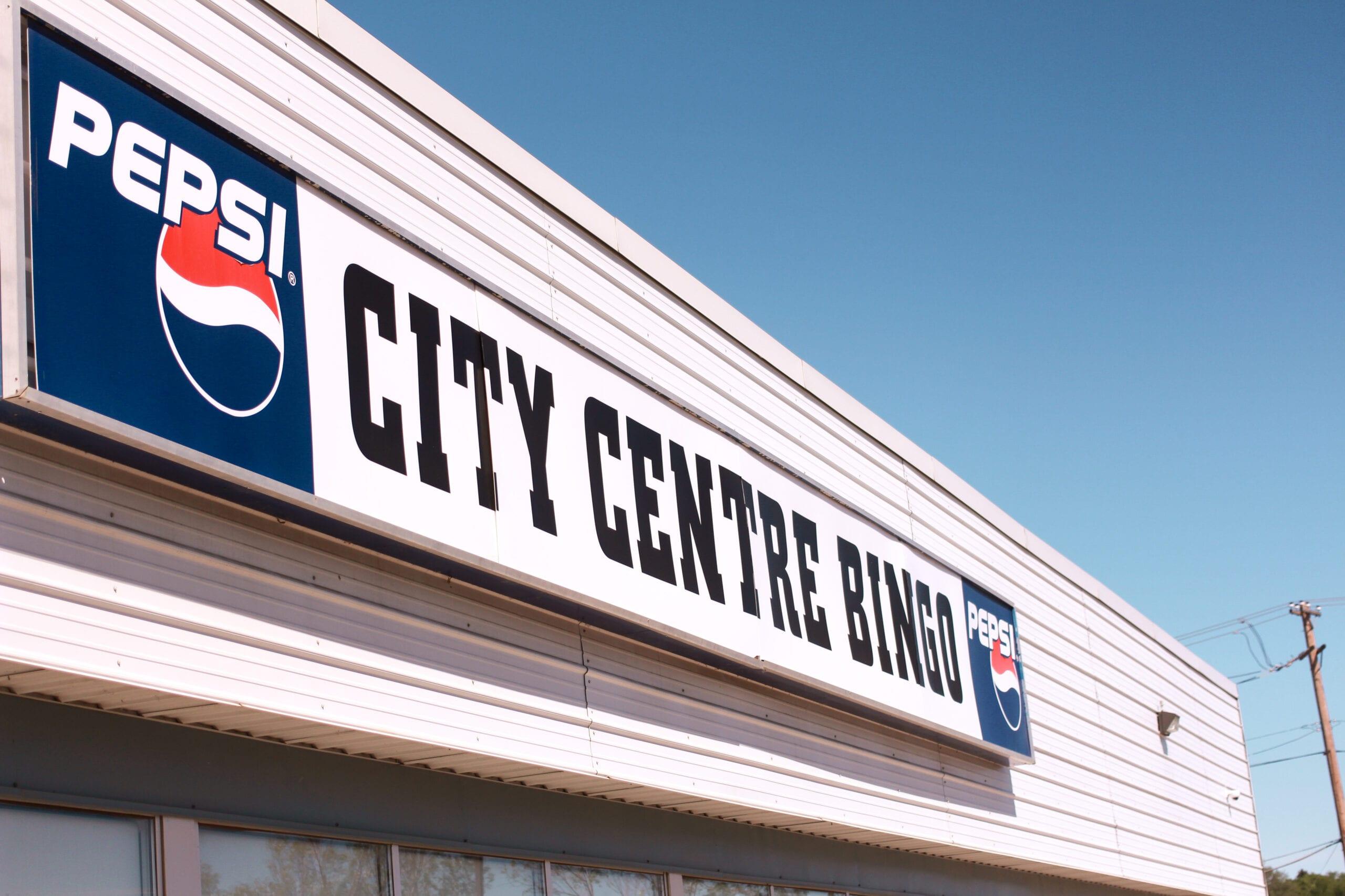 Front of City Centre Bingo